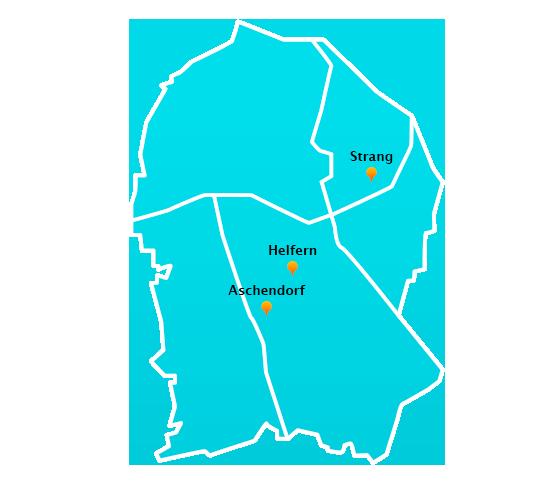 Stadtteile Winterdienst Schnee- Eisbeseitigung Bad Rothenfelde
